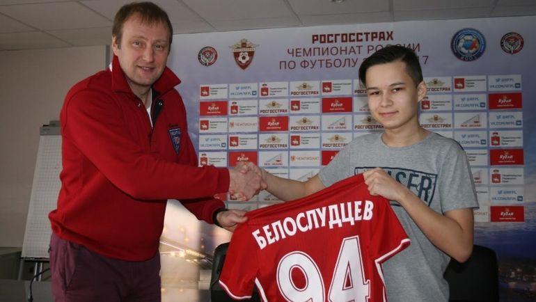 Илья БЕЛОСЛУДЦЕВ (справа). Фото РФПЛ