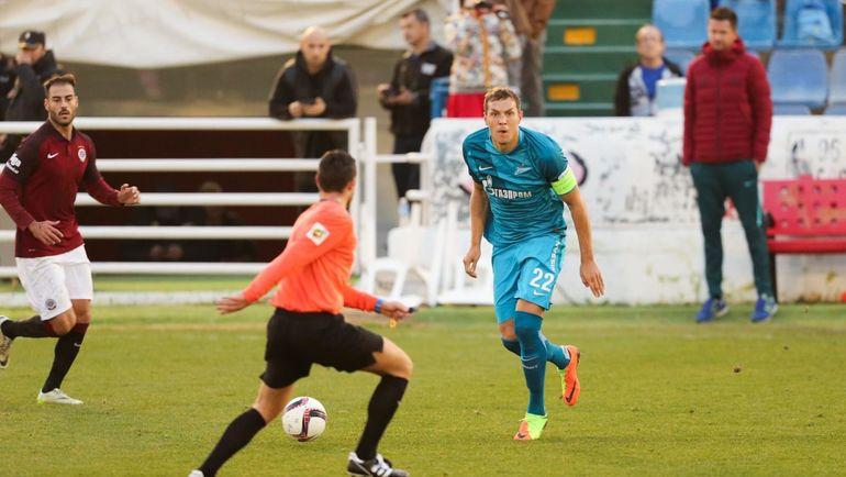 «Зенит» допустил первое поражение в нынешнем 2017-ом году вдебютном матче Бранислава Ивановича