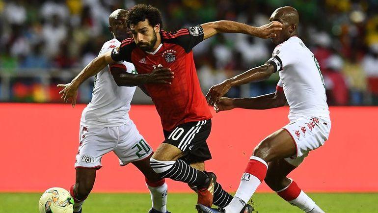 По мнению Виктора Бондаренко, лучший игрок турнира - египтянин Мохамед САЛАХ (на переднем плане). Фото AFP