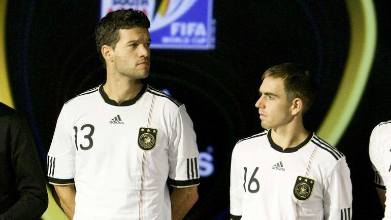 Михаэль БАЛЛАК (слева) и Филип ЛАМ. Фото REUTERS