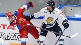Толя-Гол отменил овертайм.  Россия обыграла Финляндию
