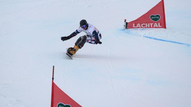 Чемпион мира-2015 в паралленльном гигантском слаломе Андрей СОБОЛЕВ. Фото AFP