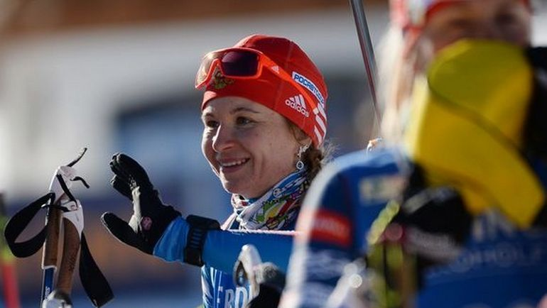 Ирина УСЛУГИНА: из резерва - на 15-е место в спринте. Фото СБР