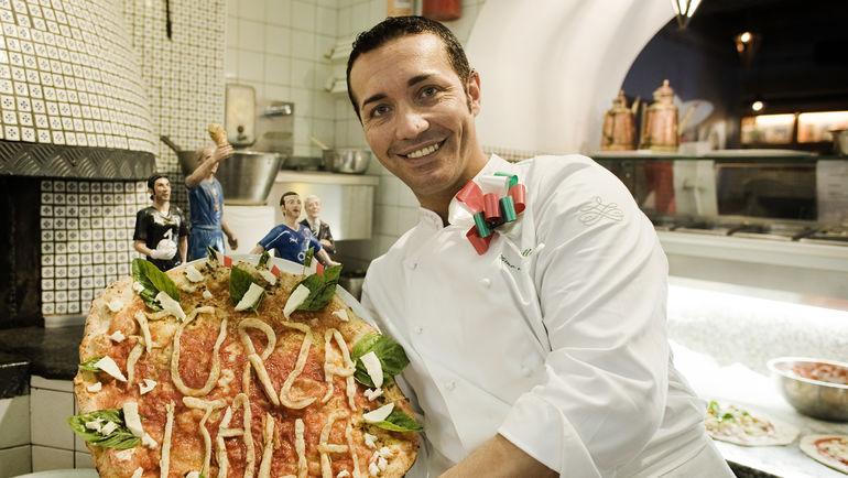 """Игрокам """"Наполи"""" придется забыть о пицце. Фото AFP"""