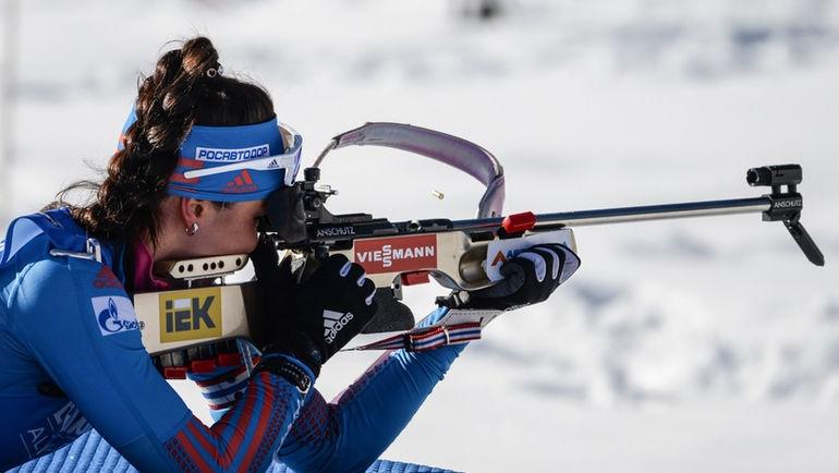 Ирина Услугина и Татьяна АКИМОВА стали лучшими в составе российской команды, но оказались далеко от медалей. Фото Герман МОРОЗОВ, СБР