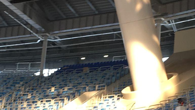 Стадион наКрестовском острове впервый раз примет 10 тыс. гостей