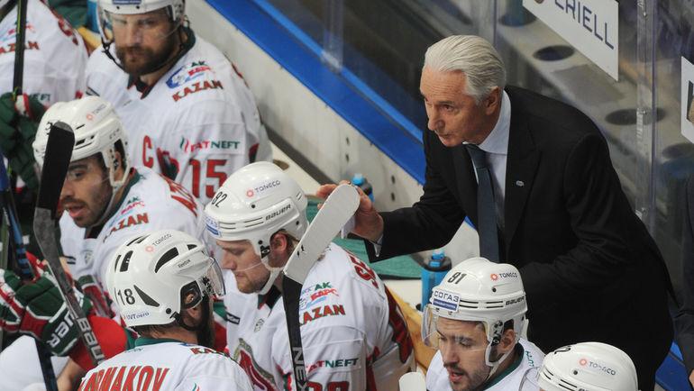 Воткрытой тренировке «АкБарса» приняли участие 27 хоккеистов