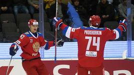 Россия победила Чехию и досрочно выиграла Еврохоккейтур