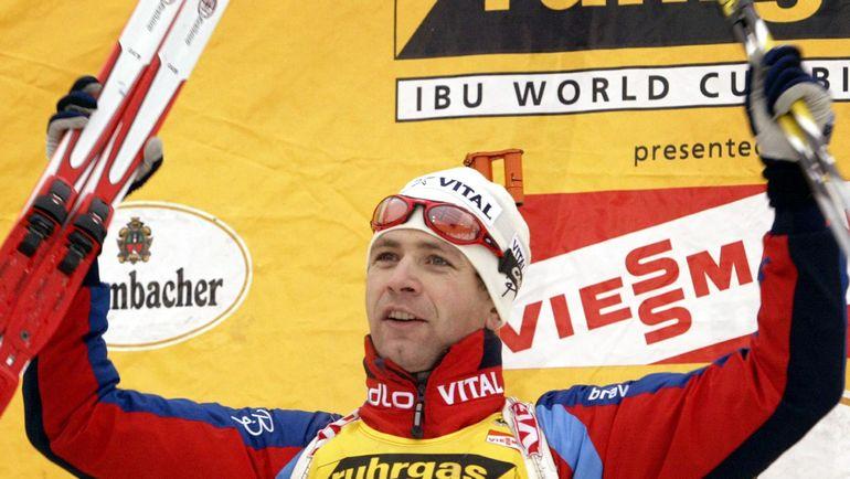 2003 год. Оле Эйнар БЬОРНДАЛЕН. Фото AFP
