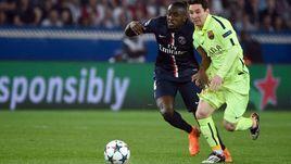 15 апреля 2015 года. Париж. 1/4 финала Лиги чемпионов.
