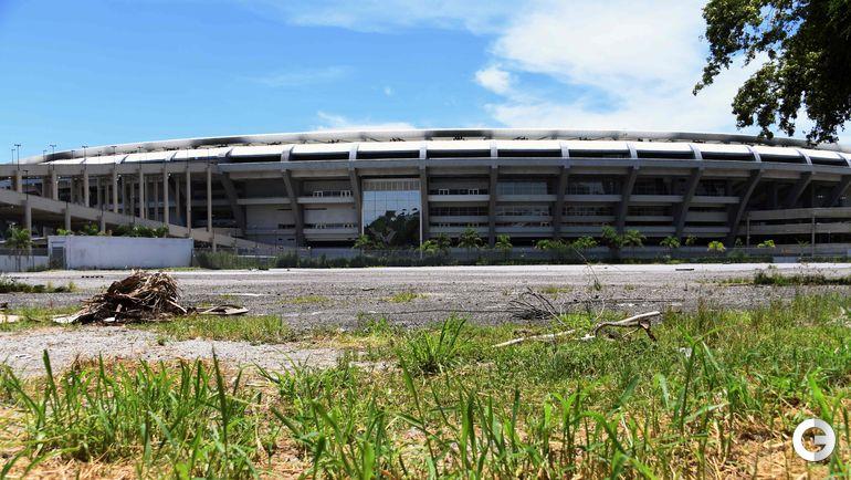"""Реконструкция """"Мараканы"""" перед ЧМ-2014 стоила 400 миллионов фунтов стерлингов. В ходе Олимпиады и Паралимпиады стадион принял всего несколько событий. Последним мероприятием на арене был благотворительный матч, организованный Зико в декабре 2016-го. Фото AFP"""
