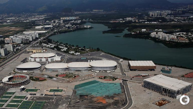 Олимпийский парк с высоты птичьего полета. Фото REUTERS