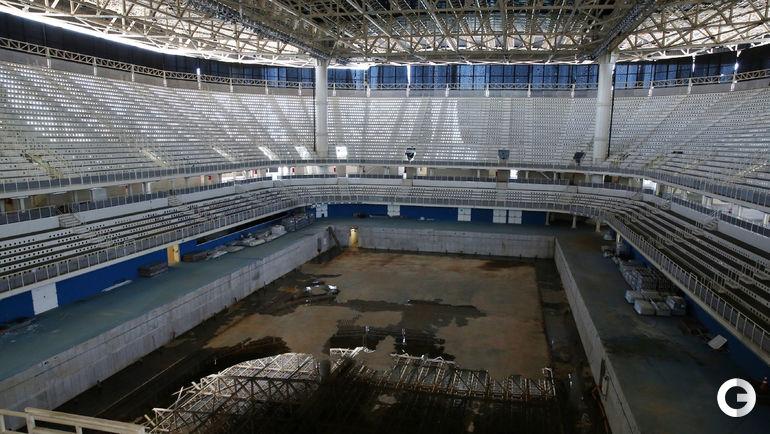 Внутри Центра водных видов спорта Aquatics. Фото REUTERS