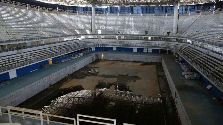 Олимпийские объекты в Рио пришли в упадок.