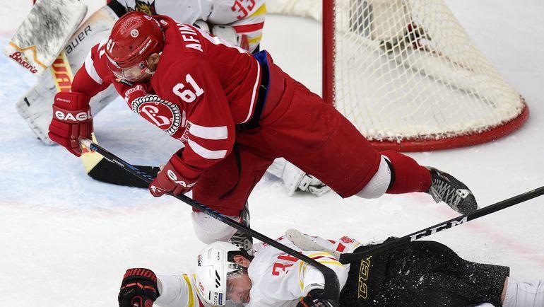 Хоккеисты «Витязя» впервый раз вышли вплей-офф КХЛ