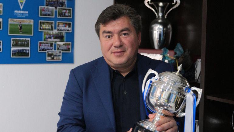 """Президент """"Марбельи"""" Александр ГРИНБЕРГ. Фото Юрий ГОЛЫШАК, """"СЭ"""""""