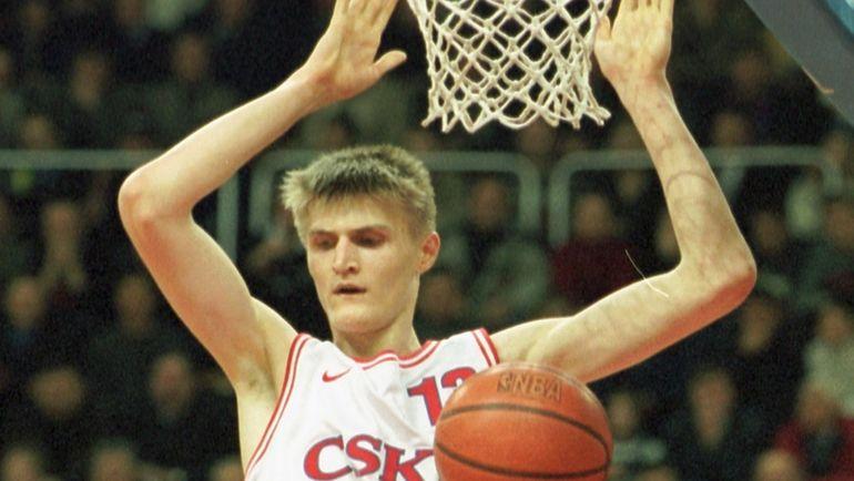 2000 год. Андрей КИРИЛЕНКО в ЦСКА. Фото Андрей ГОЛОВАНОЕ