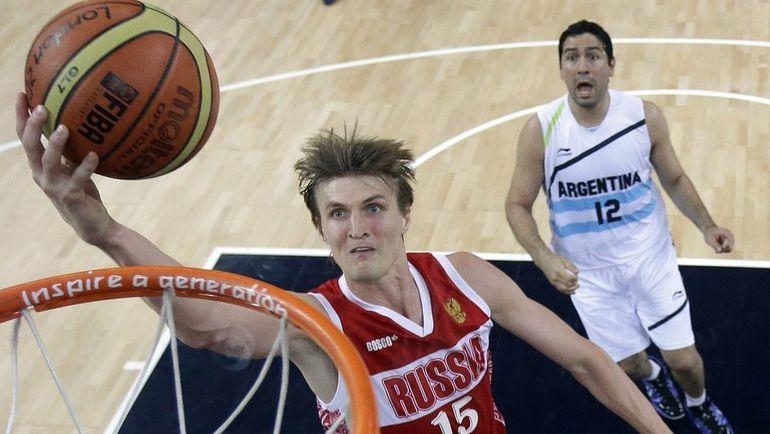 2012 год. Андрей КИРИЛЕНКО на Олимпийских играх в Лондоне. Фото AFP