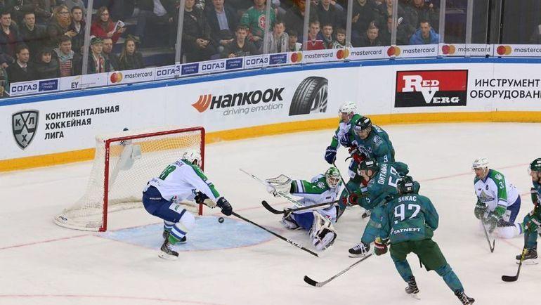 «Салават Юлаев» уступил «АкБарсу» вовтором матче плей-офф