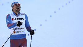 Устюгов - чемпион мира в скиатлоне