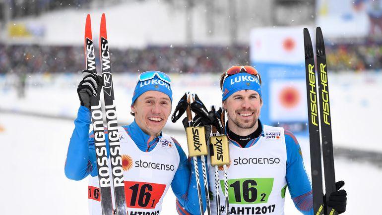 Никита КРЮКОВ (слева) и Сергей УСТЮГОВ. Фото AFP