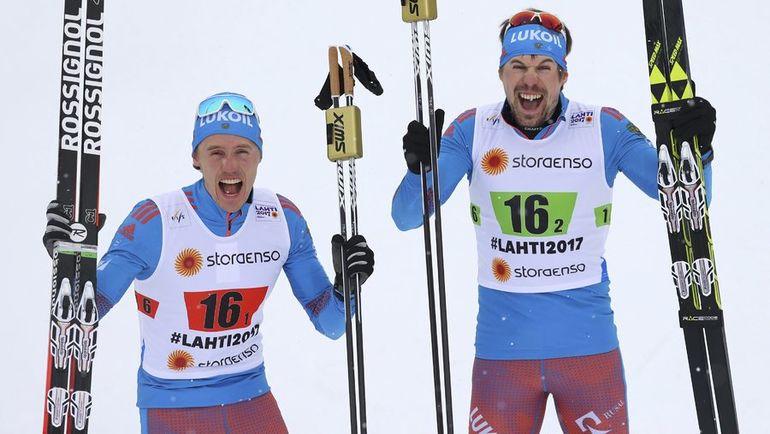 Сегодня. Лахти. Сергей УСТЮГОВ (справа) и Никита КРЮКОВ. Фото REUTERS
