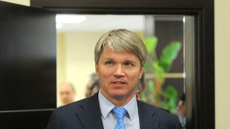 Министр спорта РФ Павел КОЛОБКОВ. Фото Татьяна ДОРОГУТИНА