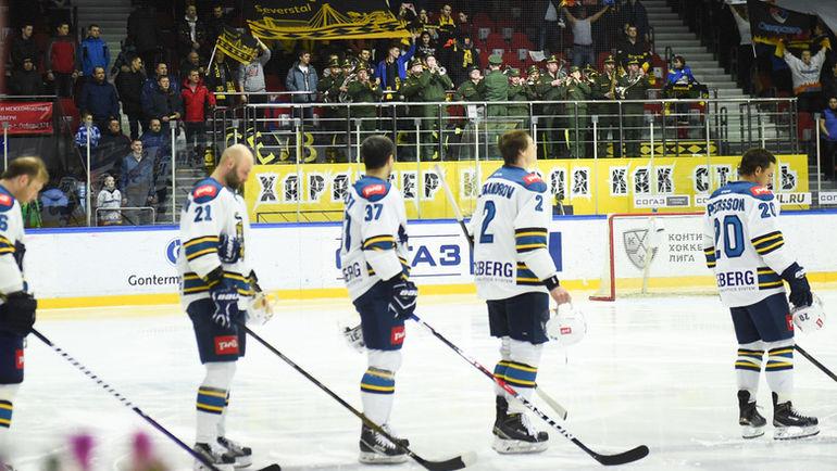 """Хоккеистам """"Сочи"""" не хватило 6 очков, чтобы попасть в плей-офф. Фото ХК """"Сочи"""""""