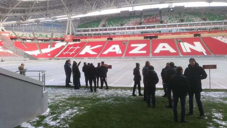«Рубин» потерпит доконца марта— ФИФА вКазани