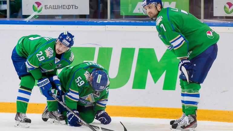 «АкБарс» победил вовертайме «Салават Юлаев» ивышел вполуфинал «Востока»