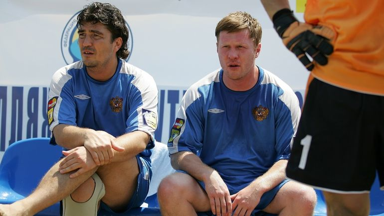 Николай ПИСАРЕВ (слева) и Сергей АНОХИН. Фото Александр КИСЕЛЕВ