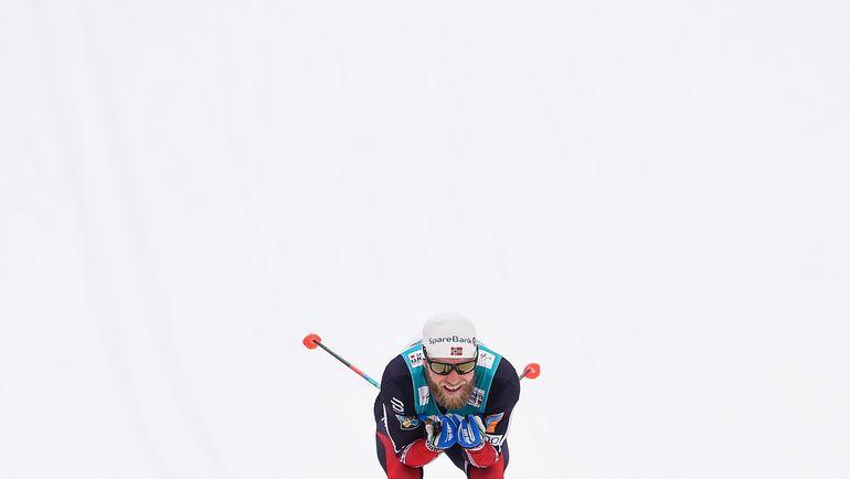 Мартин СУНДБЮ получил серебро. Фото AFP