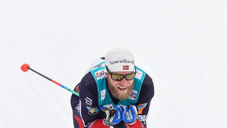 Норвежец Мартин СУНДБЮ финишировал вторым. Фото AFP