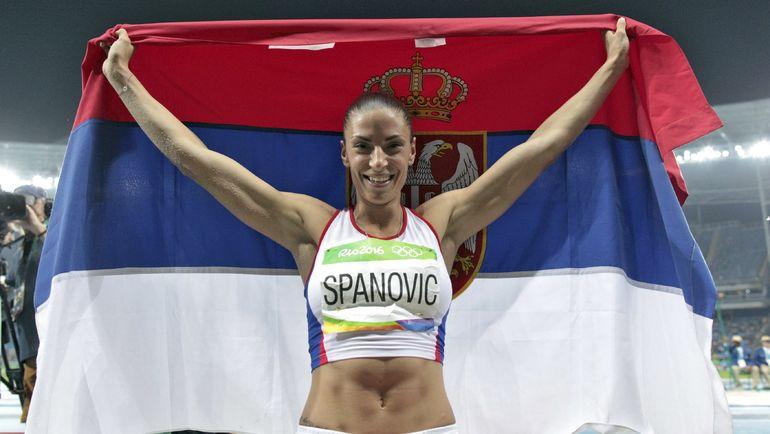 Ивана ШПАНОВИЧ - главная претендентка на европейское золото в дисциплине Клишиной. Фото REUTERS
