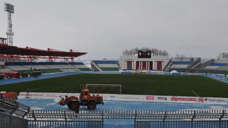 """Стадион """"Нефтяник"""" в Уфе. Фото Александр ФЕДОРОВ, """"СЭ"""""""