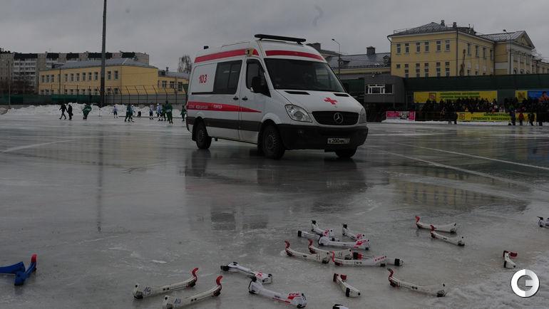 """Сегодня. Обухово. """"Водник"""" - """"Байкал-Энергия"""" - 3:4. Фото Александр ФЕДОРОВ, """"СЭ"""""""