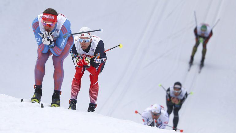 Андрей ЛАРЬКОВ (слева) и Дидрик ТОНСЕТ. Фото REUTERS