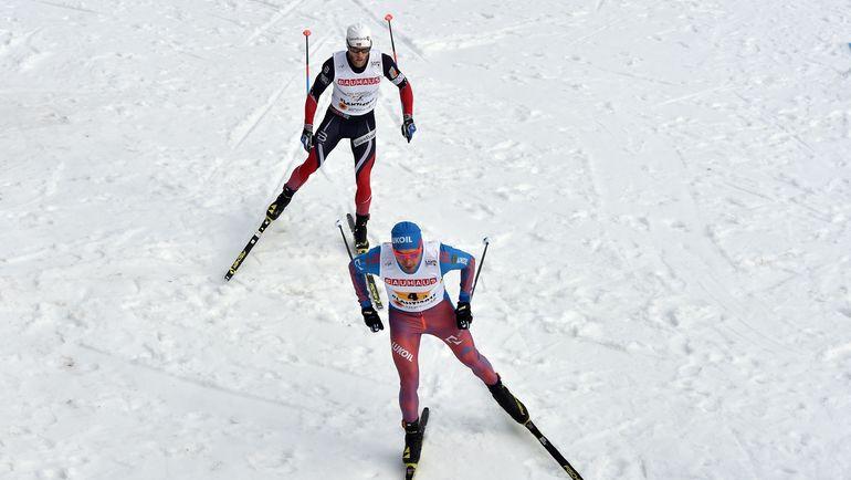 Алексей ЧЕРВОТКИН (справа) и Мартин СУНДБЮ. Фото AFP