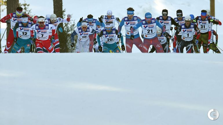 Сегодня. Лахти. Чемпионат мира. Масс-старт, 50 км. Фото AFP