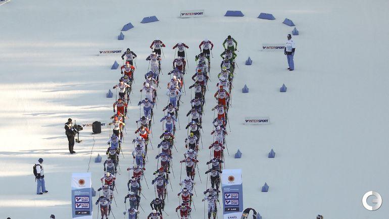 Сегодня. Лахти. Чемпионат мира. Масс-старт, 50 км. Фото REUTERS