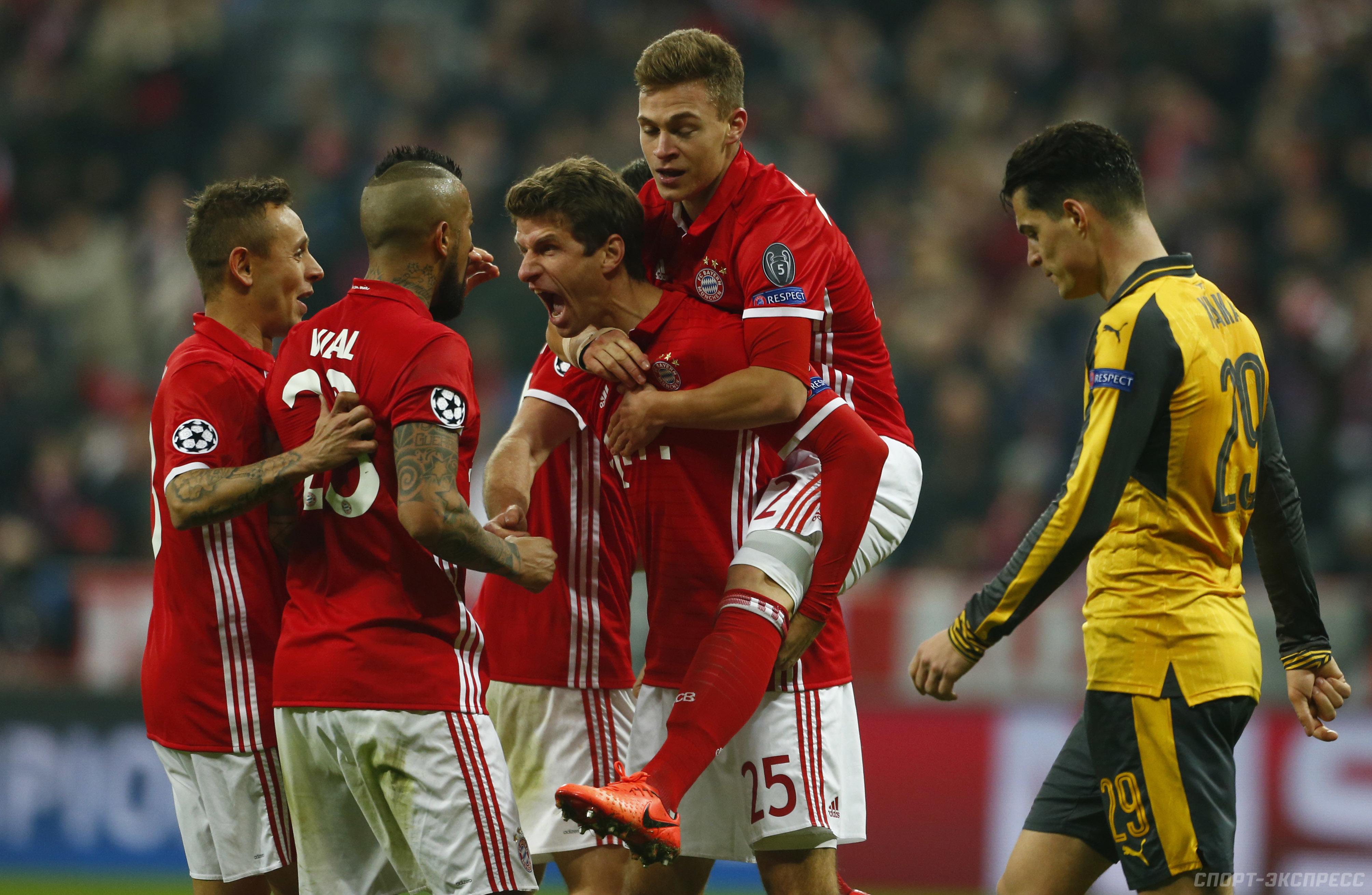 Прогноз на матч Бавария - Арсенал 19 июля 2017