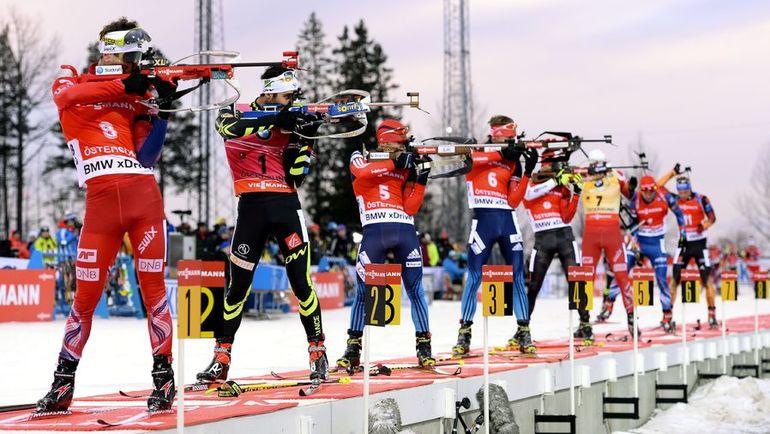 Что общего у тебя с лучшими биатлонистами мира? Фото REUTERS
