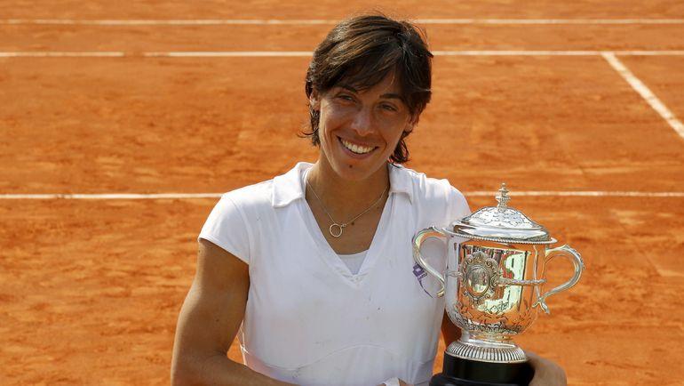 Чемпионка Roland Garros-2010 Франческа СКЬЯВОНЕ. Фото AFP
