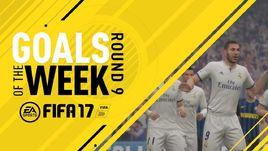 Представлен 9-й выпуск лучших голов недели FIFA 17