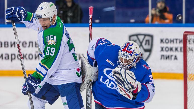 Илья ЕЖОВ (справа). Фото photo.khl.ru