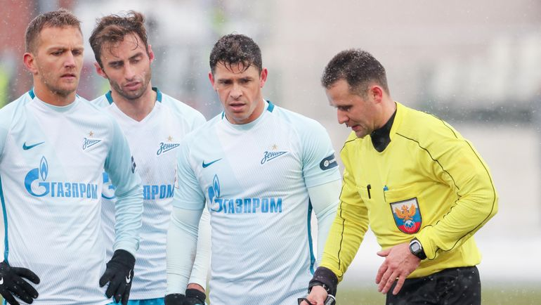 Ключевые решения арбитра Турбина вматче «Амкар»— «Зенит» признаны верными