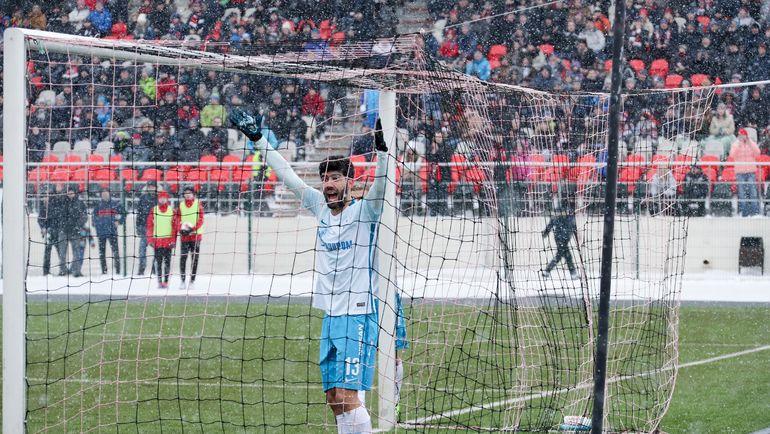 РФС подтвердил правоту арбитра матча «Амкар»— «Зенит» в главных моментах игры
