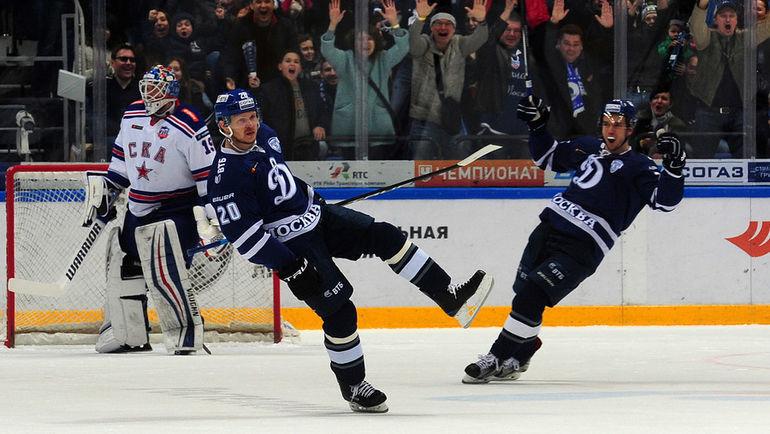 СКА переиграл «Динамо» иувеличил отрыв всерии плей-офф