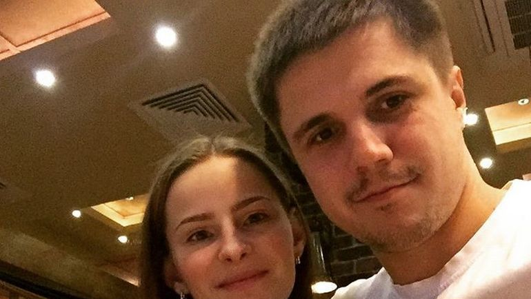 """Анастасия ГРИШИНА и ее муж. Фото """"ВКонтакте"""""""