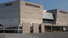 Олимпийская сборная провела тренировку на арене в Пхенчхане.